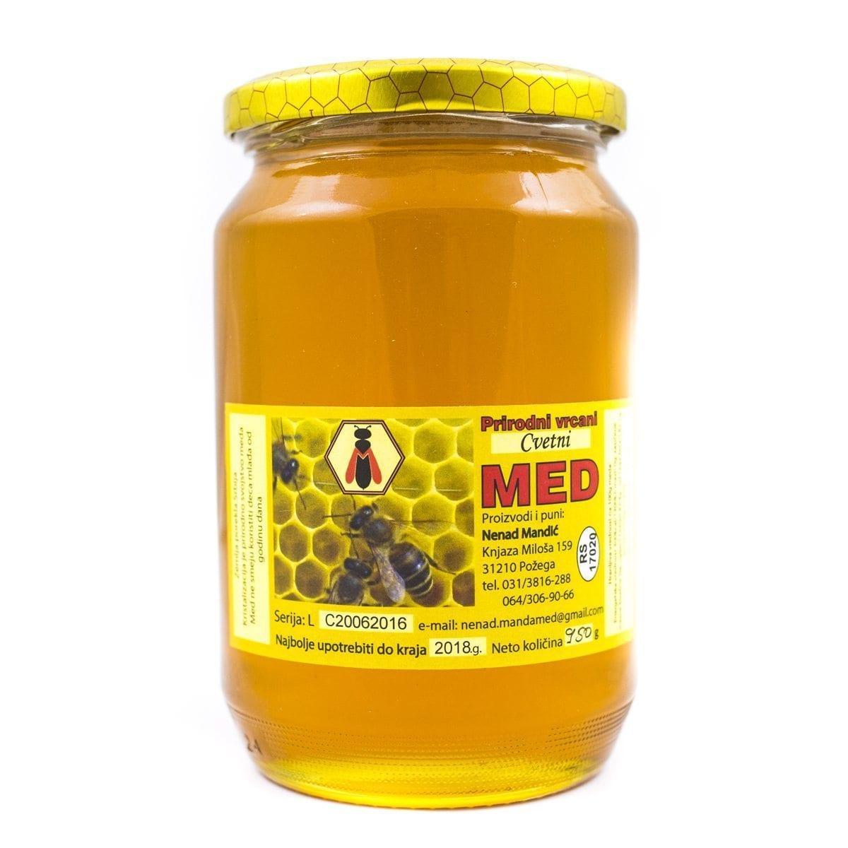 Med cvetni Mandić 950g