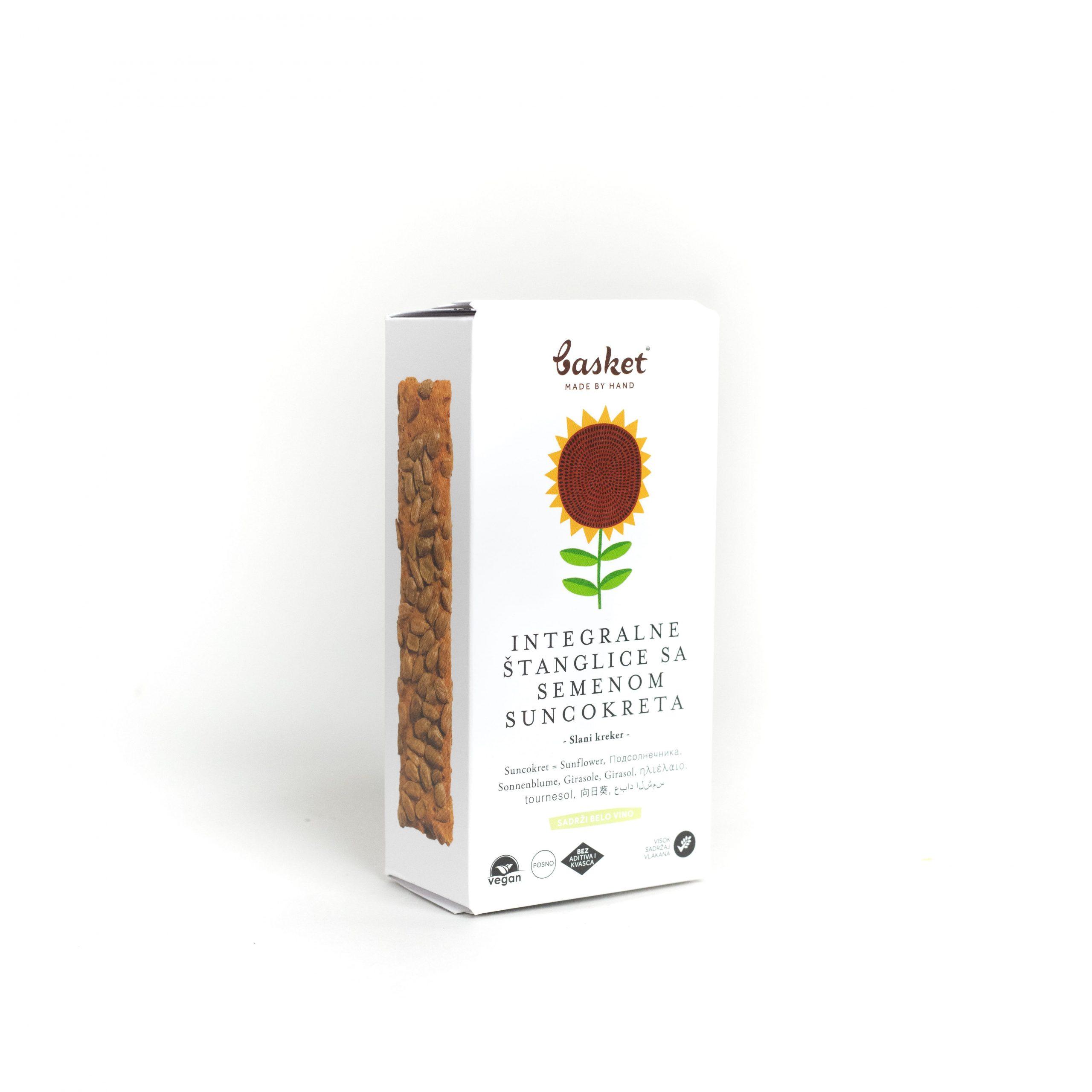 Integralne štanglice sa semenom suncokreta