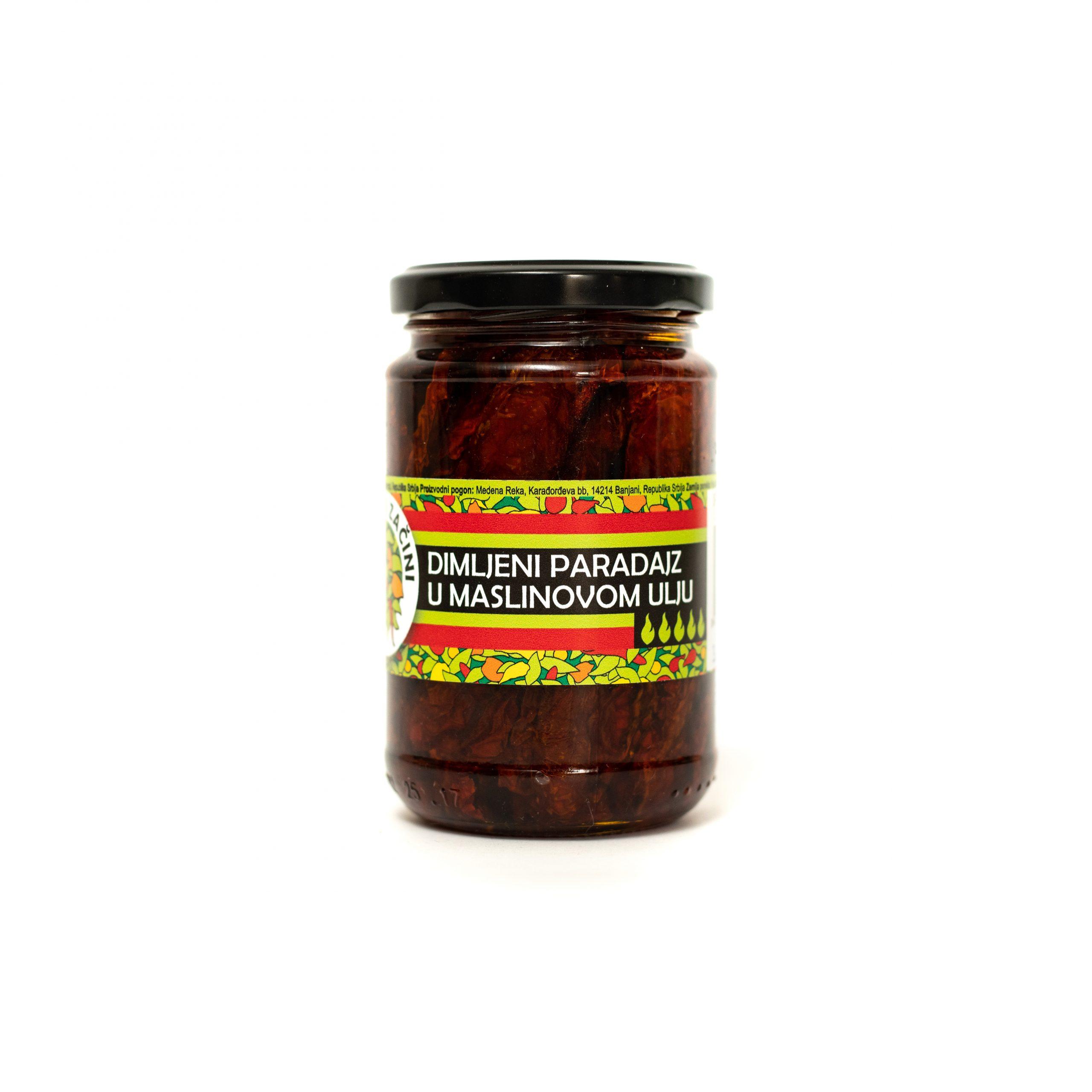 Dimljeni sušeni paradajz u maslinovom ulju 314ml