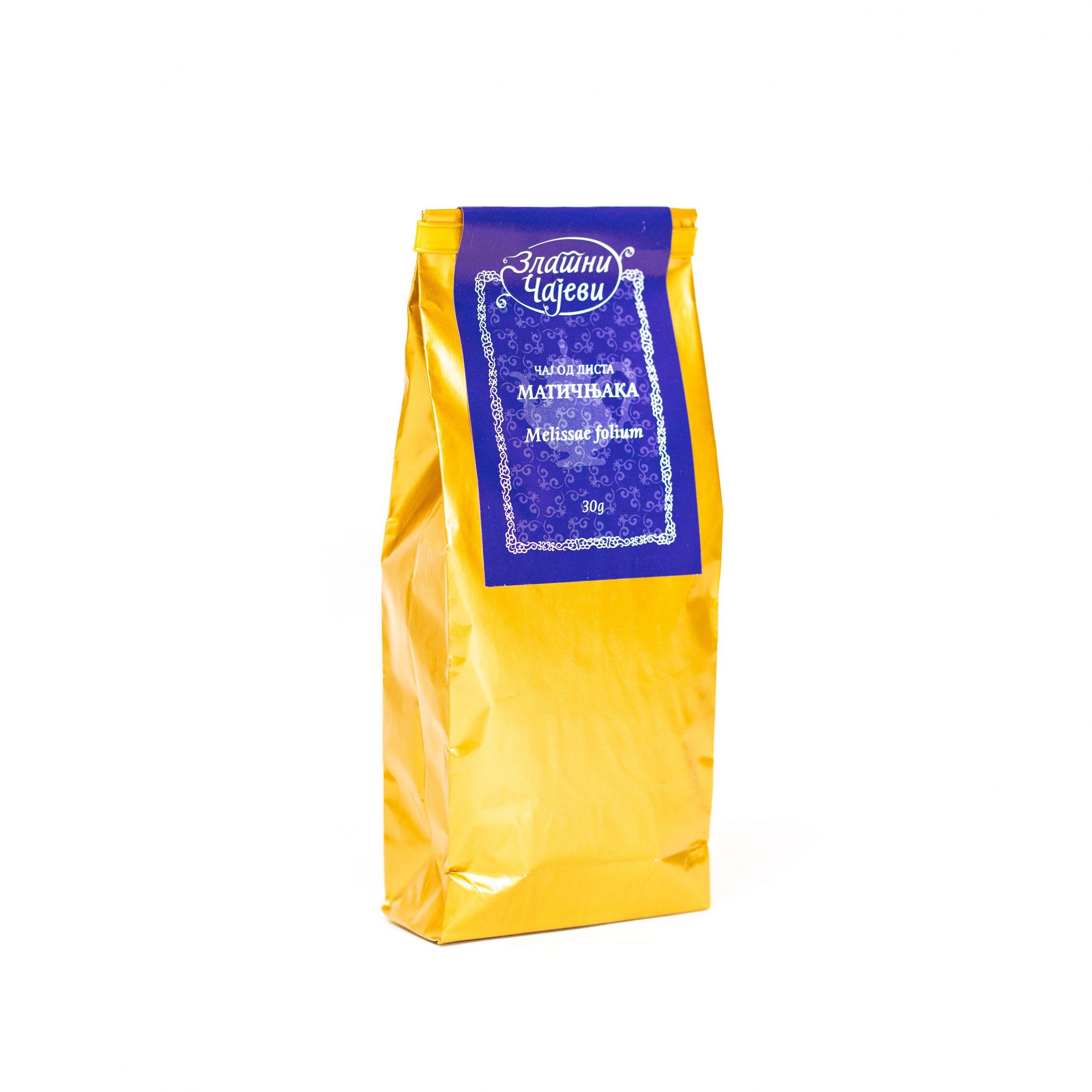 Čaj od lista matičnjaka Zlatni Čaj 30g