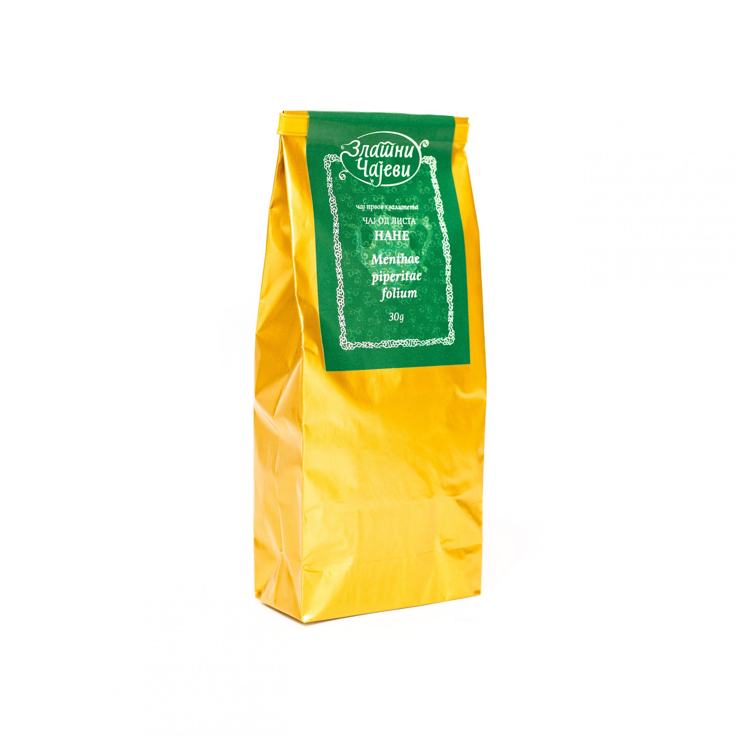 Čaj od lista nane Zlatni Čajevi 30g
