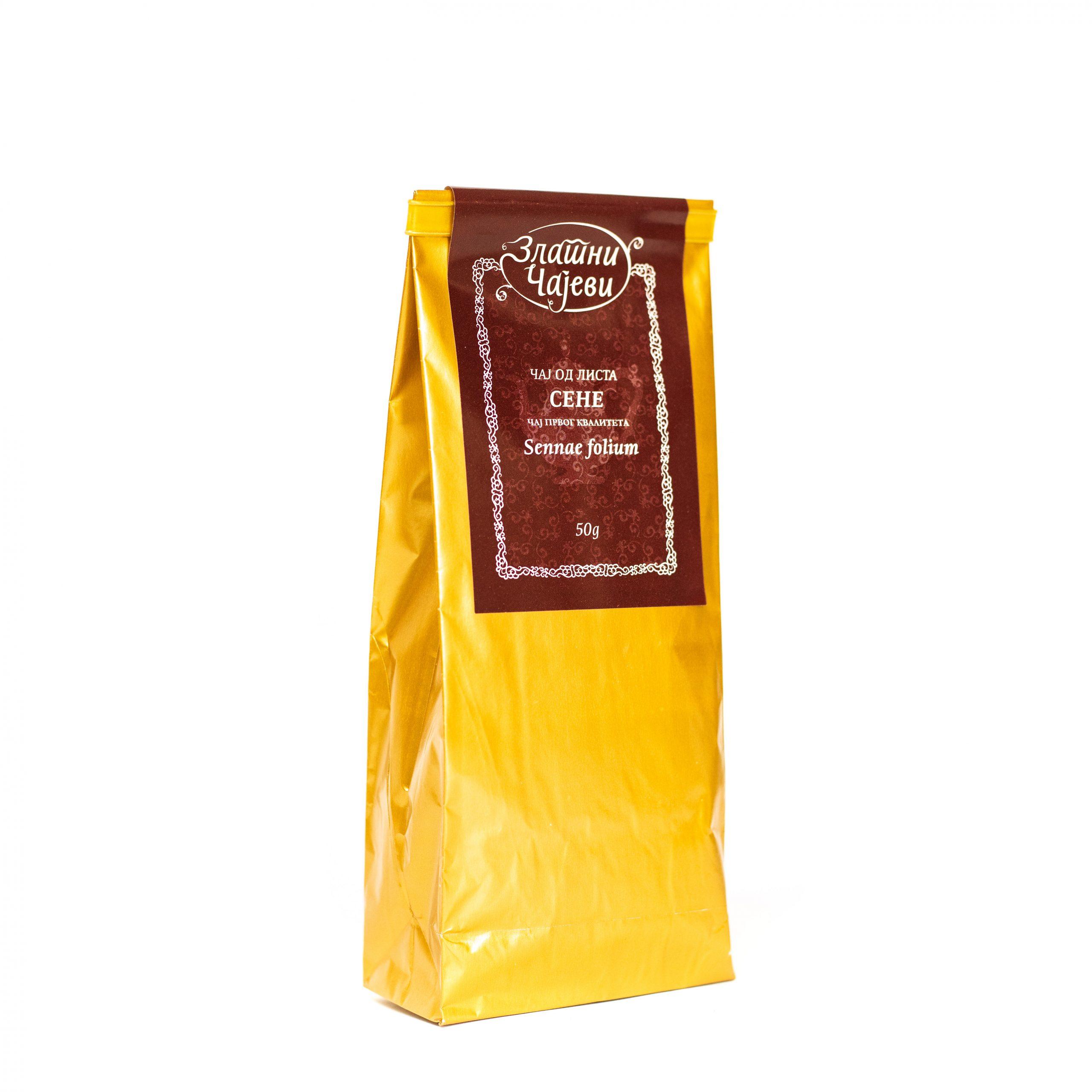 Čaj od lista sene 50g Zlatni Čajevi