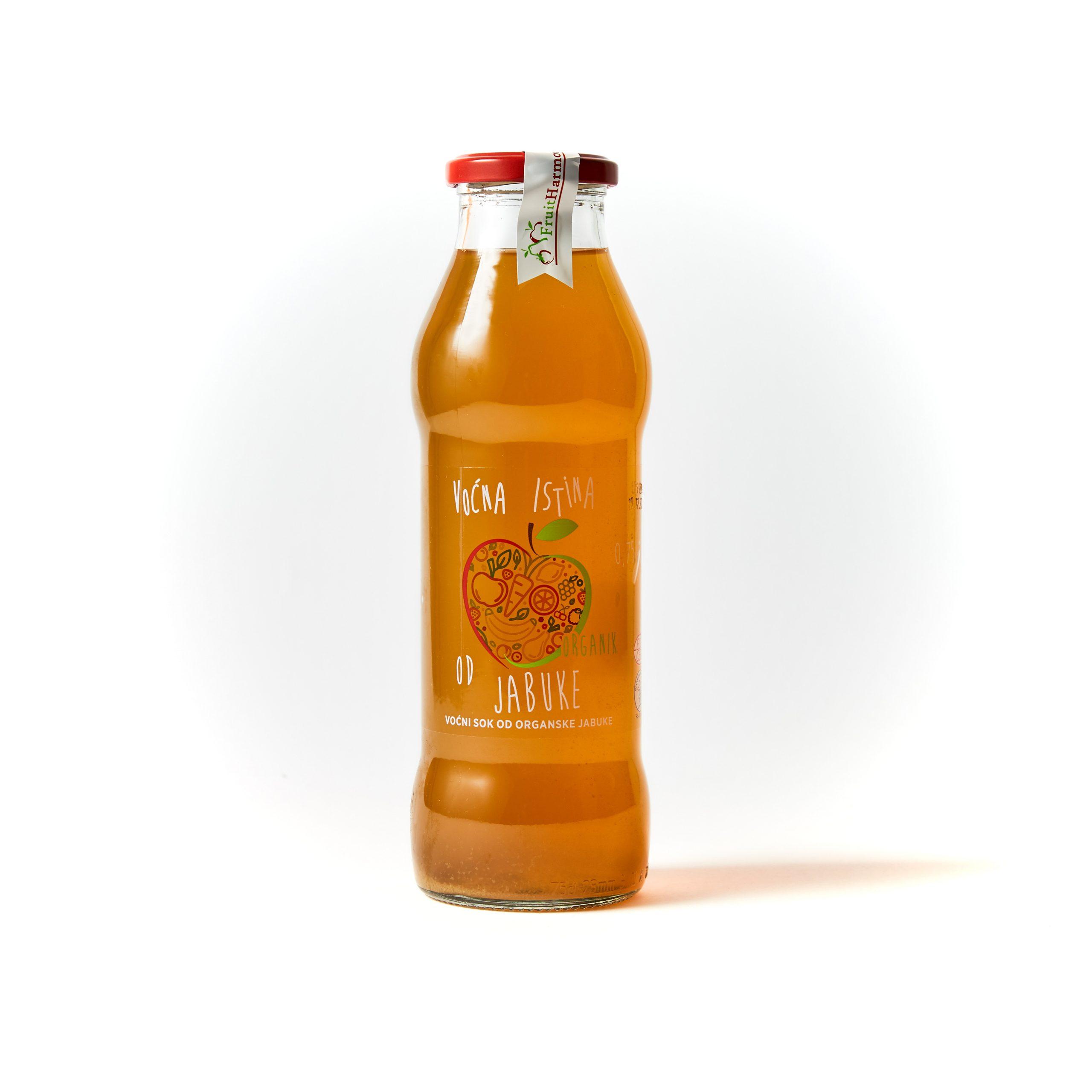 Organski sok od jabuke 0.75l